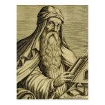 Imagen a mano de la albahaca del santo del vintage