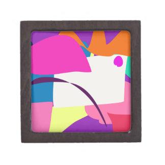 Imagen abstracta colorida cajas de regalo de calidad