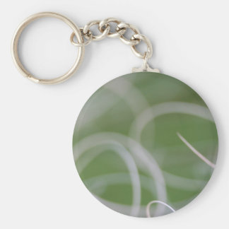 Imagen abstracta de hojas de palma verdes llaveros personalizados