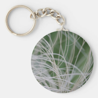Imagen abstracta de hojas de palma verdes tropical llavero