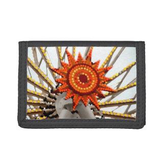 imagen abstracta del resplandor solar