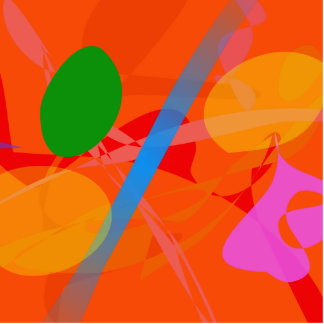 Imagen abstracta esculturas fotográficas
