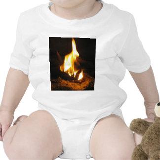 Imagen alegre del fuego de P5230008 casero Trajes De Bebé