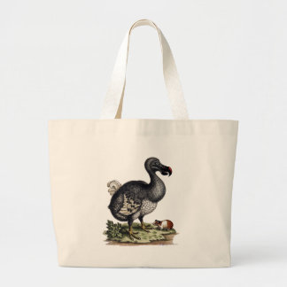 Imagen antigua del Dodo en la bolsa de asas