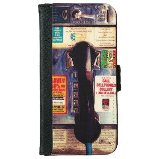 Imagen ascendente de los E.E.U.U. del cierre Funda Cartera Para iPhone 6