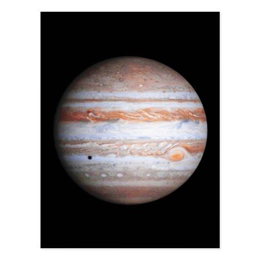 Imagen AUMENTADA de la NASA del flyby de Júpiter C Tarjetas Postales