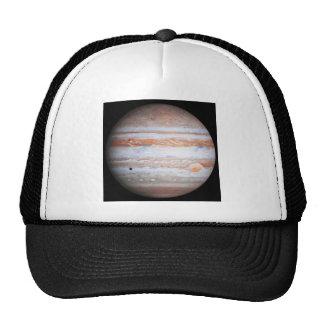 Imagen AUMENTADA de la NASA del flyby de Júpiter Gorros Bordados