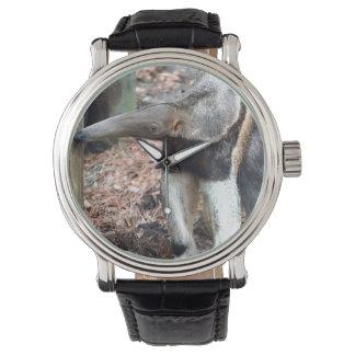 imagen aumentada nariz de la imagen del animal relojes de mano