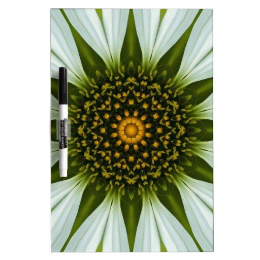 Imagen blanca 11 de la mandala de Coneflower Tableros Blancos