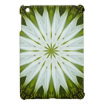 Imagen blanca 9 de la mandala de Coneflower iPad Mini Fundas