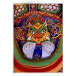 Imagen budista de la imagen, templo felicitación