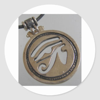 imagen china del amor de yan del yin pegatina redonda
