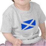 Imagen clásica de la bandera del saltire camiseta