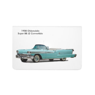 Imagen clásica del coche para el Bolsillo-Diario Cuaderno