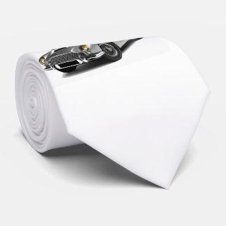 Imagen clásica del coche para el lazo corbata personalizada