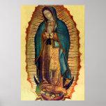 Imagen completa de Guadalupe Tilma del Virgen Póster