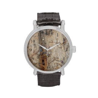 Imagen costera del Driftwood Reloj De Mano