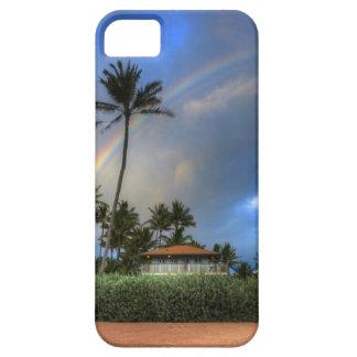 Imagen Dave Lee del arco iris de la casa de playa iPhone 5 Carcasas