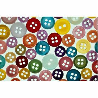 Imagen de botones multicolores esculturas fotograficas
