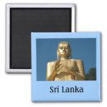Imagen de Buda del oro Imán Para Frigorifico