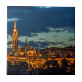 Imagen de Budapest Azulejo Cuadrado Pequeño