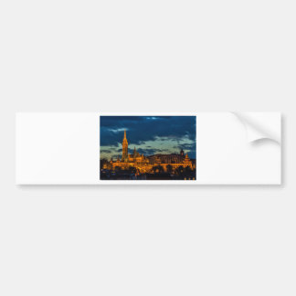 Imagen de Budapest Etiqueta De Parachoque