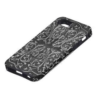 Imagen de cobre de la foto del diseño de la voluta iPhone 5 Case-Mate protector