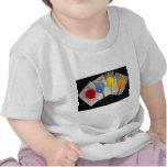 Imagen de cuatro lollipops coloridos camiseta