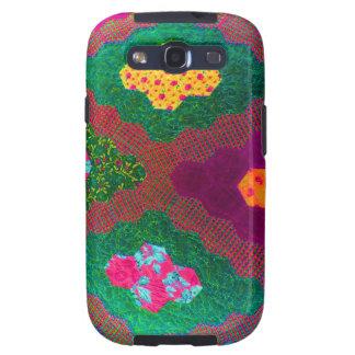 Imagen de Digitaces casera verde Galaxy S3 Protectores