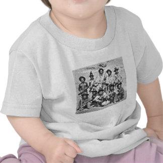 Imagen de Eadweard J. Muybridge de los indios de M Camisetas