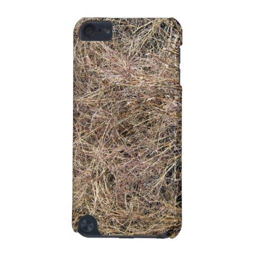 Imagen de fondo de palillos y de hojas secos funda para iPod touch 5G