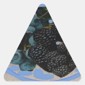 imagen de grapes.JPG para la decoración Pegatina Triangular