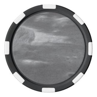 Imagen de Hubble sobrepuesta en el modelado del Fichas De Póquer