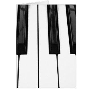 Imagen de imagen blanca negra de la llave de tarjeta de felicitación