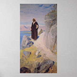 Imagen de Jesús que vuelve a Galilea Póster