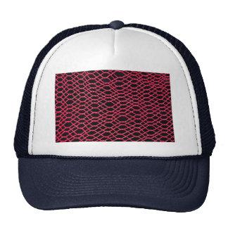 Imagen de la armadura de la hamaca, roja gorras