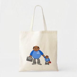 imagen de la bolsa de asas del padre y del hijo