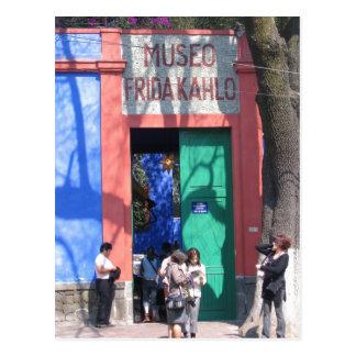 Imagen de la casa de Frida s - la casa azul Postales