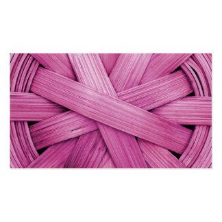Imagen de la cesta rosada plantillas de tarjetas personales
