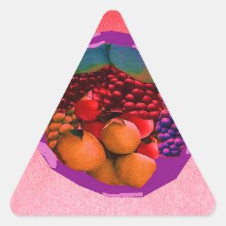 imagen de la comida de gtapes3.JPG para las Pegatinas De Triangulo Personalizadas