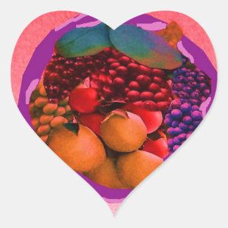 imagen de la comida de gtapes3.JPG para las Pegatina Corazon
