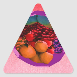 imagen de la comida de gtapes3.JPG para las Pegatina Triangular
