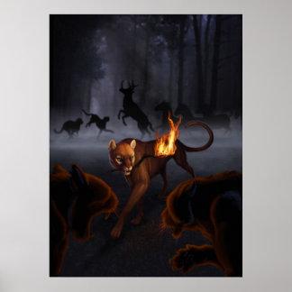 Imagen de la cubierta de la criatura de Ratha Póster