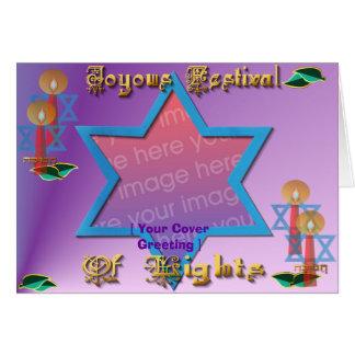 [imagen de la cubierta], tarjeta del *Hanukkah, [s