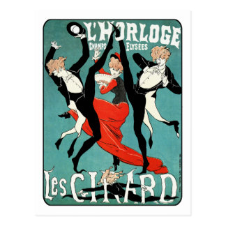 Imagen de la danza de Nouveau del arte de Julio Ch Tarjeta Postal
