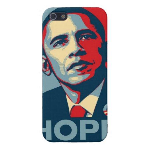 Imagen de la esperanza de Obama iPhone 5 Cárcasa