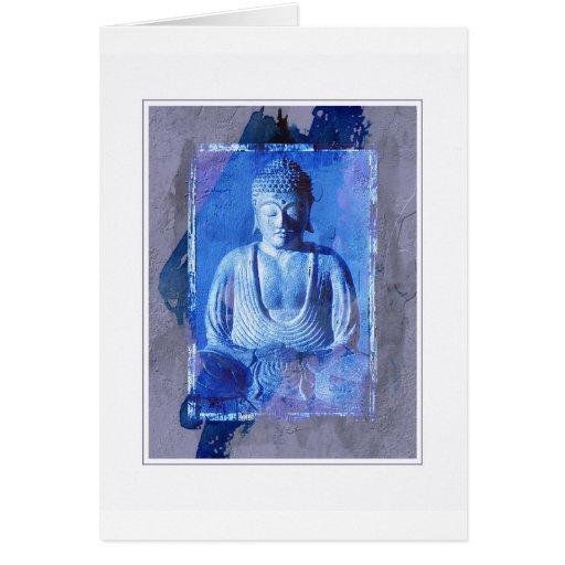 Imagen de la estatua de Buda Tarjeton