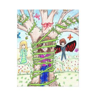 Imagen de la fantasía dibujada por Tasha Impresiones En Lona Estiradas