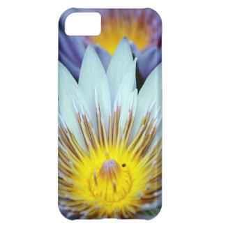 Imagen de la flor del lirio de Dave Lee del caso d Funda Para iPhone 5C