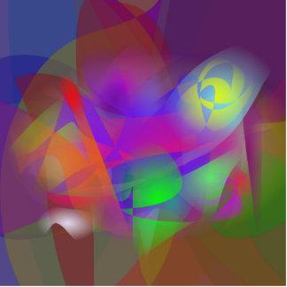 Imagen de la flor escultura fotográfica